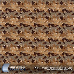 WTP-153 Camo Small-Tan-Brown-Grey