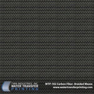 WTP-182 Carbon Fiber Braided Weave
