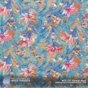 WTP-257 Flower-Blue