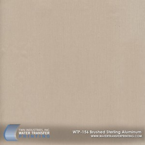 WTP-156 Brushed Sterling Aluminum