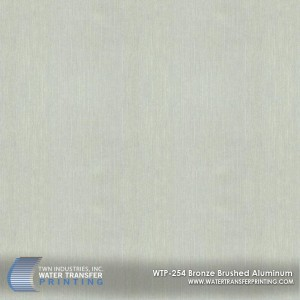 WTP-254 Bronze Brushed Aluminum